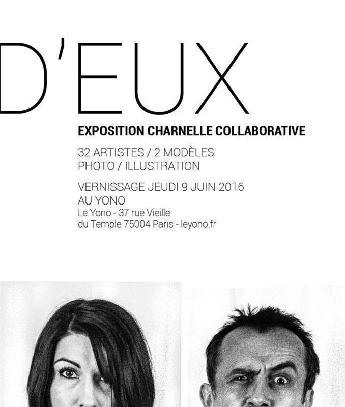 """Domination-exposition """"D'Eux"""" collectif des Ygreks au Yono, Paris"""