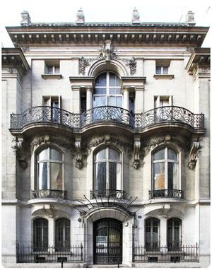 Clarence Etienne - façace Ecole rue Blanche
